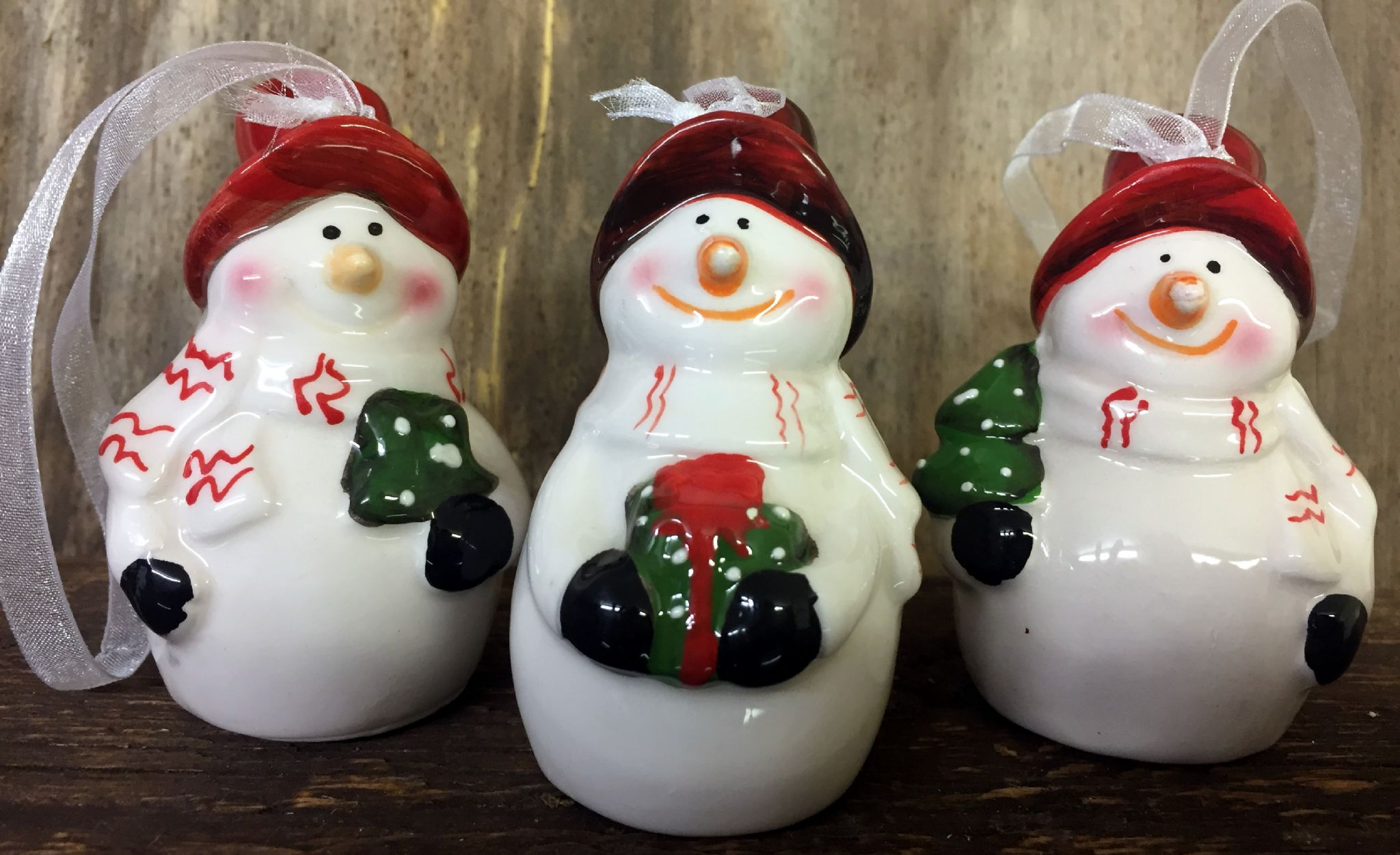 Hand Painted Ceramic Ornaments